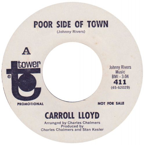 Carroll Lloyd 'Poor Side Of Town'