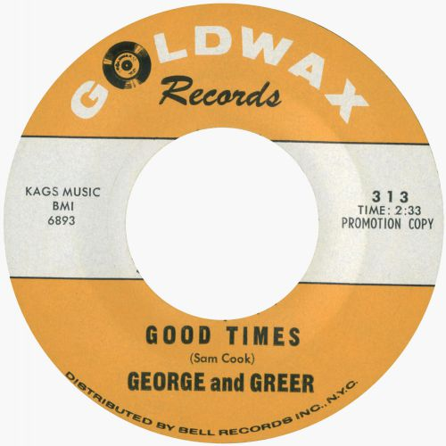 George and Greer 'Good Times'