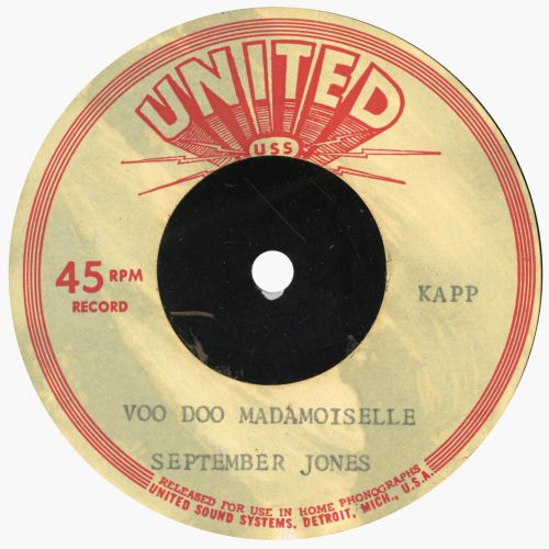 September Jones 'Voo Doo Madamoiselle'