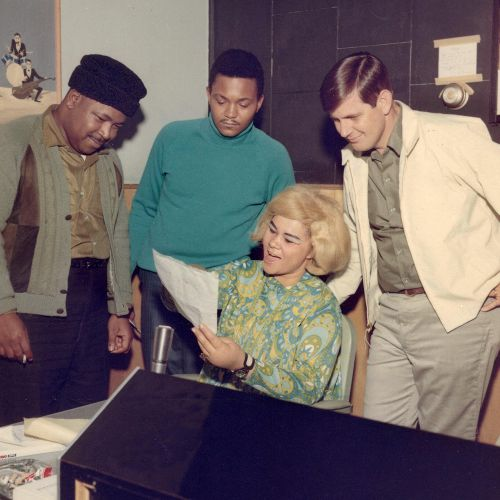 Etta James, Rick Hall, Billy Foster & Bowlegs  Miller