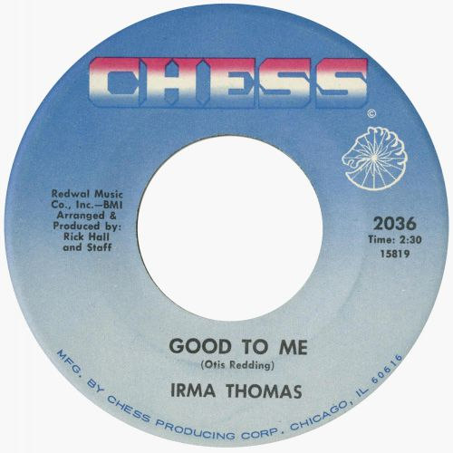 Irma Thomas 'Good To Me'