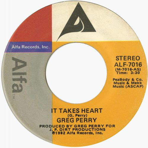 Greg Perry ' It Takes Heart'