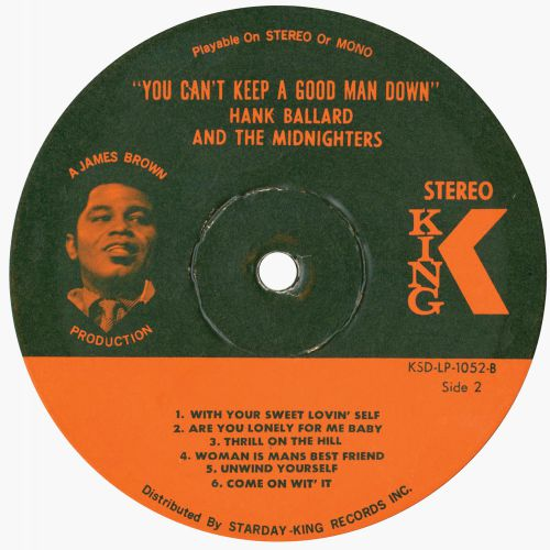 Hank Ballard 'You Can't keep A Good Man Down'