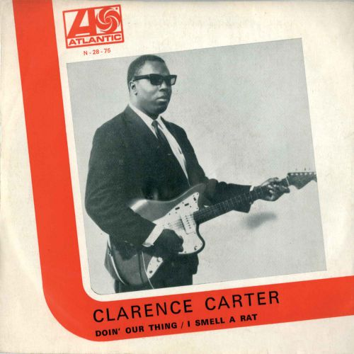 Clarence Carter 'Doin' Our Thing/ I Smell a Rat' 7