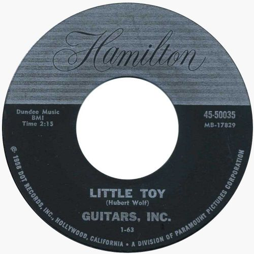Guitars, Inc. 'Little Toy' courtesy of Pipeline