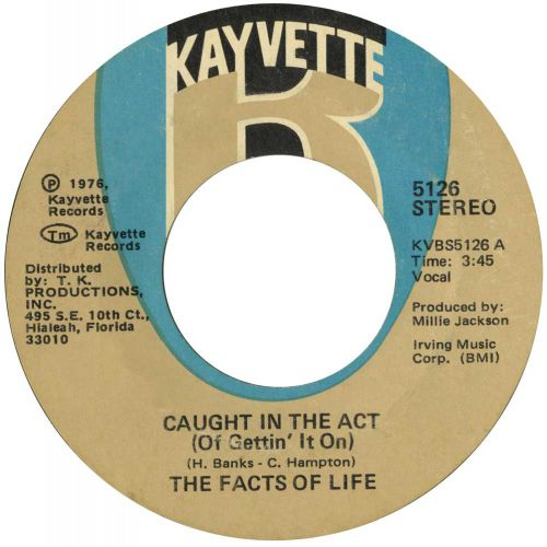 The Facts Of Life  'Caught In The Act (Of Gettin' It On)' courtesy of Tony Rounce