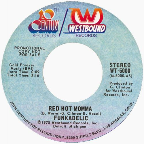 Funkadelic 'Red Hot Mama'