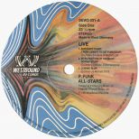 Live At The Beverly Theater In Hollywood LP label side 1