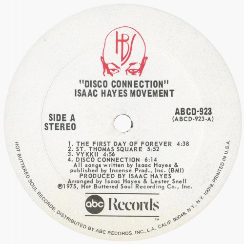 Disco Connection LP label side 1