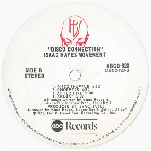 Disco Connection LP label side 2