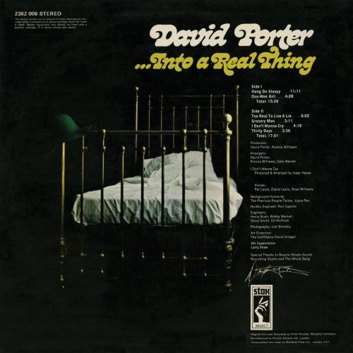 David Porter '...Into A Real Thing'