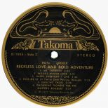 Rose Maddox 'Reckless Love & Bold Adventure' LP label