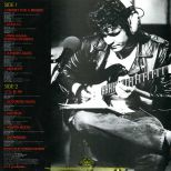 Michael Bloomfield 'Cruisin' For A Bruisin'' LP back cover