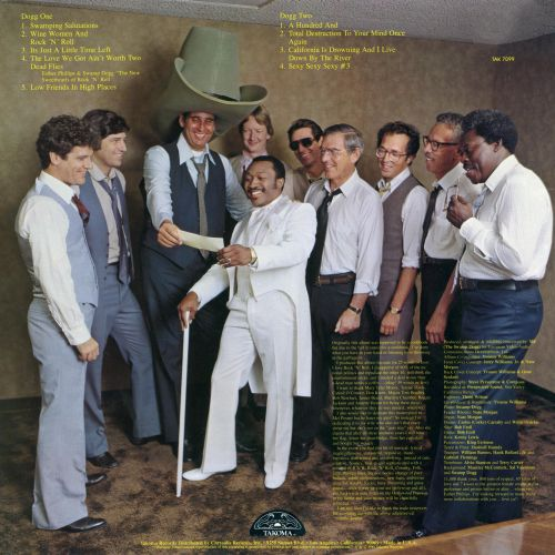 I'm Not Selling Out / I'm Buying In! LP back cover