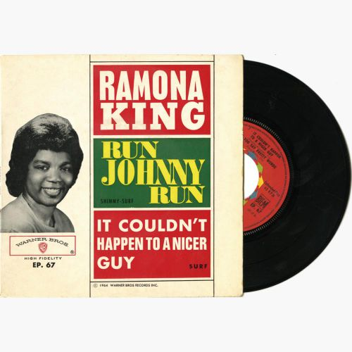 Ramona King 'Run Johnny Run / It Couldn't Happen To A Nicer Guy' courtesy of Malcolm Baumgart