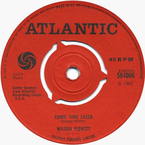 Wilson Pickett 'Three Time Loser'
