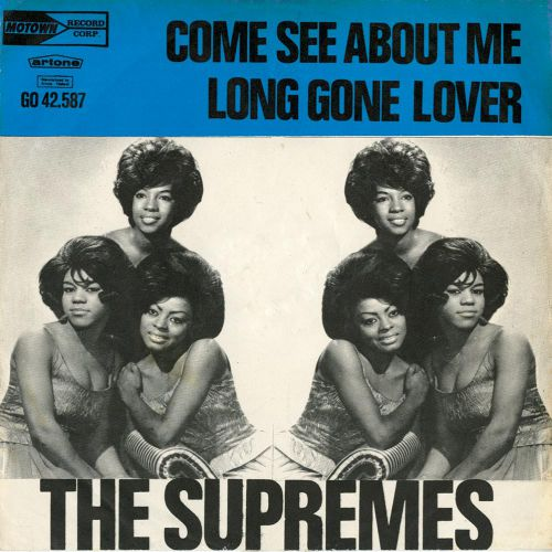 The Supremes 'Come See About Me / Long GOne Lover' courtesy Mick Patrick