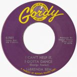 LaBrenda Ben 'I Cant Help It, I Gotta Dance' courtesy Mick Patrick