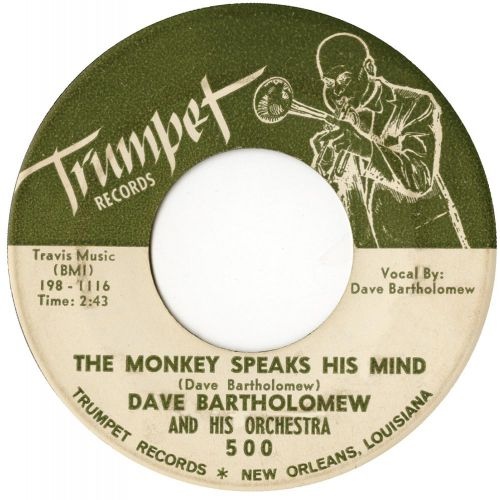 Dave Bartholomew 'The Monkey Speaks His Mind'