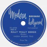 Hadda Brooks Trio  'Bully Wully Boogie'