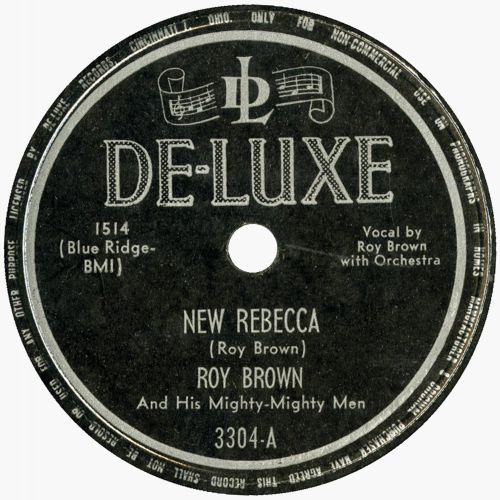 Roy Brown 'New Rebecca'