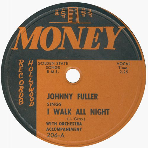 Johnny Fuller 'I Walk All Night'