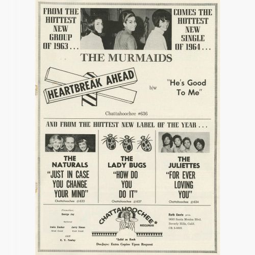 The Murmaids advert