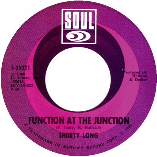 Shorty Long 'Function At The Junction' courtesy of Lars Nilsson