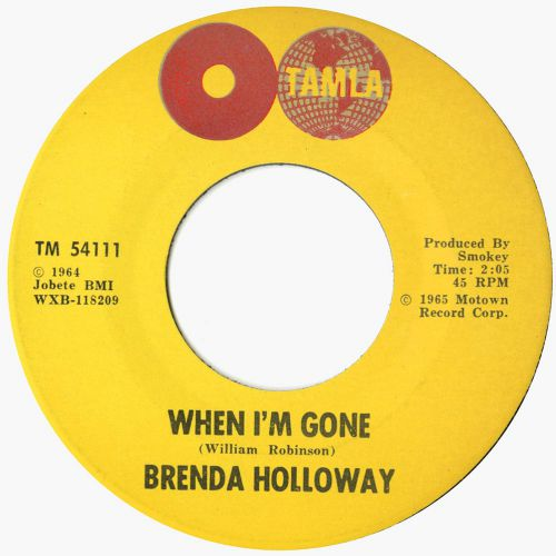 Brenda Holloway 'When I'm Gone'