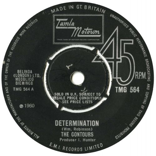 The Contours 'Determination'