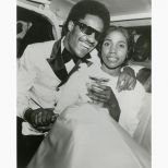 Rita Wright and Stevie Wonder