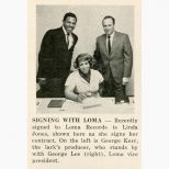Linda Jones press clipping