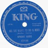 Wynonie Harris 'All She Wants To Do Is Rock'
