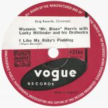 Wynonie Harris 'I Like My Baby's Pudding'