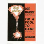 Joe Barry billboard ad