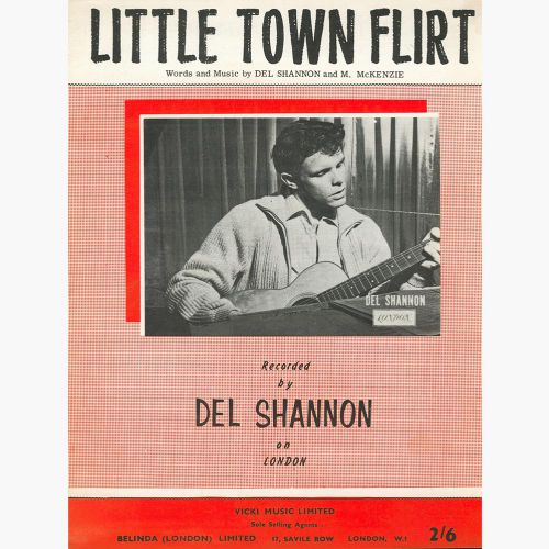 Little Town Flirt song sheet