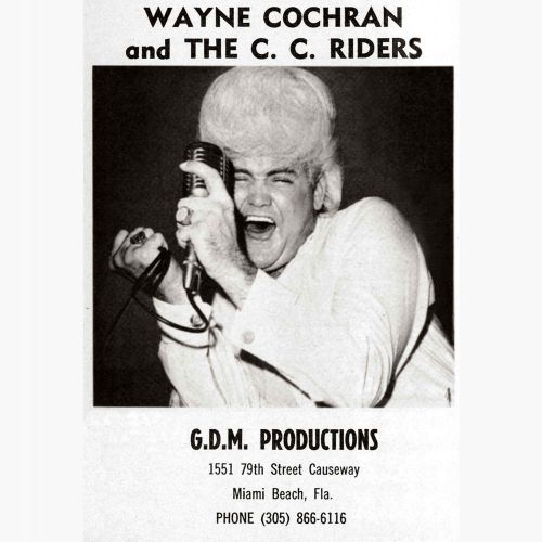 Wayne Cochran advert