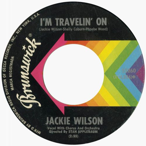 Jackie Wilson 'I'm Travelin' On'