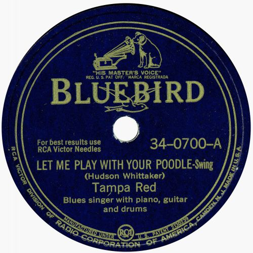 Tampa Red 'Let Me Play With Your Poodle'