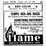 Tampa Red advert