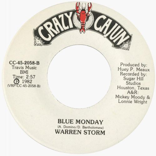 Warren Storm 'Blue Monday'