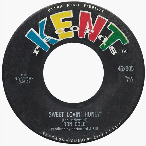 Don Cole 'Sweet Lovin' Honey'