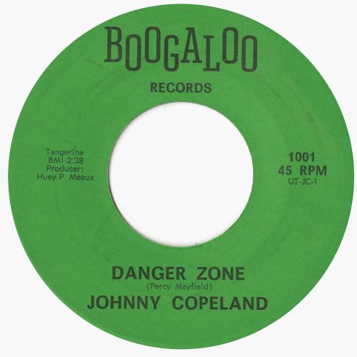 Johnny Copeland 'Danger Zone'
