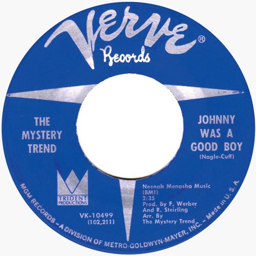 The Mystery Trend 'Johnny Was A Good Boy'