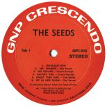 The Seeds LP label