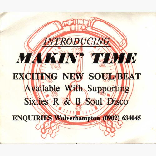 Makin' Time advert