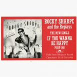 Rocky Sharpe and the Replays advertisement