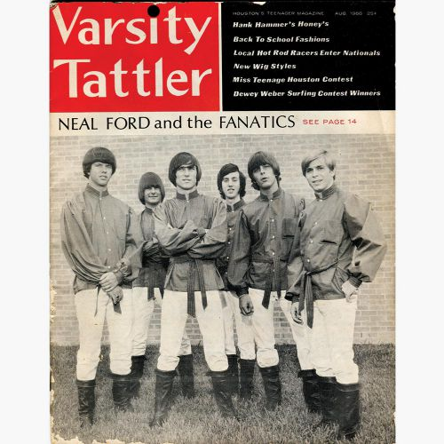 Neal Ford & the Fanatics in Varsity Tattler