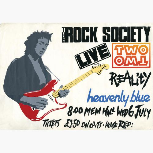 Two Two Rock Society Poster
