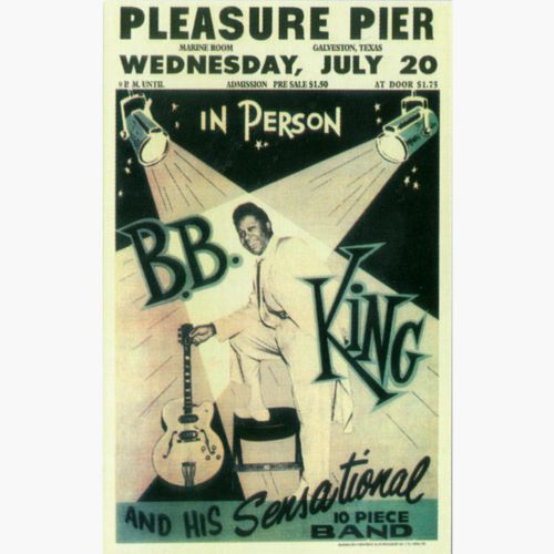 B. B. King advert